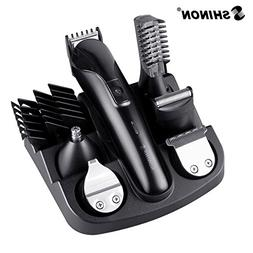 Ocamo 6 in 1 Rechargeable Hair Trimmer Titanium Hair Clipper