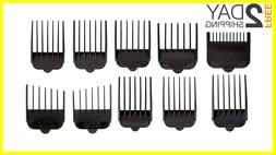 10pcks hair trimmer attachments clippers kit clipper