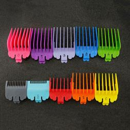 10pcs/Set Universal Hair Clippers Limit Combs Guide Attachme
