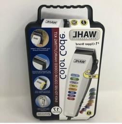 WAHL 17-Pieces Color Code Hair Clippers- Hair Cut Kit BARBER