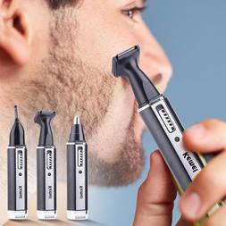 4 in 1 Rechargeable Men Electric Nose Ear Hair <font><b>Trim