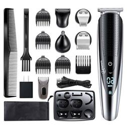 Hatteker Rechargeable Men's Electric Hair Clipper Shaver Bea