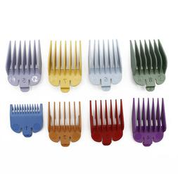 8 Size Hair Clipper Guide Comb Haircut Barber Accessories Sa