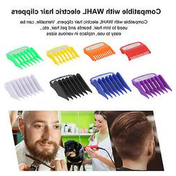 8Pcs/Set Hair Clipper Limit Comb Guide Cutting Replacement T