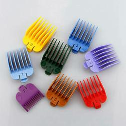 8pcs/Set Universal Hair Clippers Limit Combs Guide Attachmen