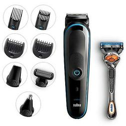 Braun 9-in-1 MGK5080 Beard Trimmer Shaver & Hair Clipper, Bo