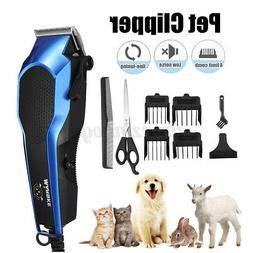 9 in 1 Pet Dog Cat Grooming Kit Hair Clipper Trimmer Hair Qu