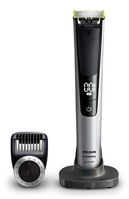 Philips Norelco - OneBlade Pro Wet/Dry Trimmer - Black/Green