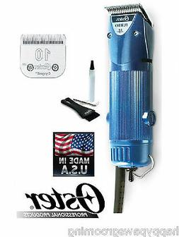 Oster A5 TURBO 2 Speed HEAVY DUTY Clipper Cryogen X 10 Blade