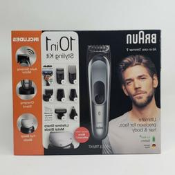 Braun All-in-One Trimmer 7, 10-in-1 Hair Cut Clippers & Styl