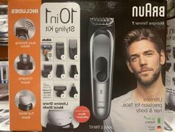 Braun All-in-One Trimmer 7, 10-in-1 Hair Cut Clippers and St