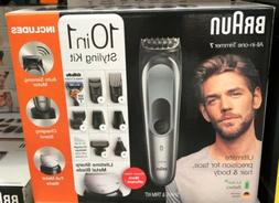 Braun all in One Trimmer 7 MGK7221 Barber Hair Clippers 10 1
