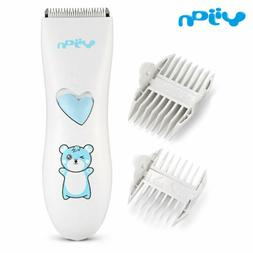 Baby Hair Clipper Electric Waterproof Noiseless Kids Haircut