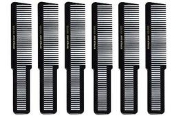 "Barber Beauty Hair Krest 9000 8"" Clipper Cutting Comb  6 x S"