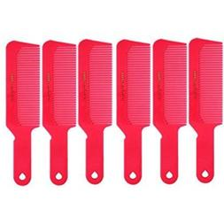 "Barber Beauty Hair Krest 9001 8 3/4"" Flattop Comb  6 x SB-K9"