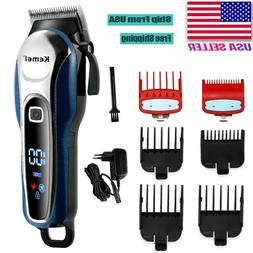 Barber Hair Clipper Professional Trimmer Cordless Electric H