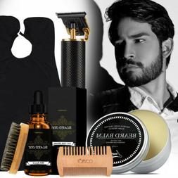 beard care set and hair clippers trimmer