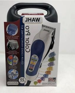 brand new color pro clippers haircut kit