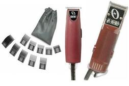 Oster Classic 76 Hair Clipper and T-Finisher a 10 piece comb
