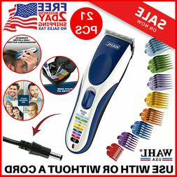 Wahl Clipper Color Pro Cordless Hair Clippers Rechargeable P