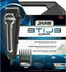 Clipper Elite Pro High Performance Haircut Kit for men with