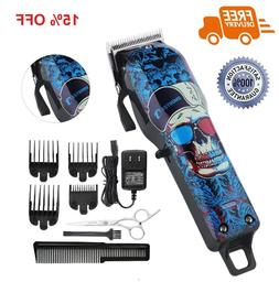 Cordless Hair Clippers Beard Trimmer for Men Kids Profession