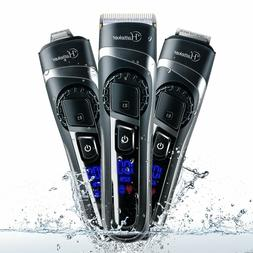 Hatteker Cordless Hair Clippers Beard Trimmer Professional W