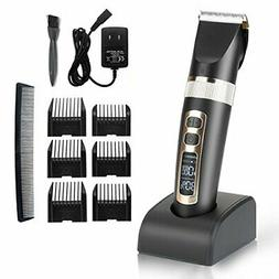 Cordless Hair Trimmer Kit for Men & Women w/ 3 Speed Clipper