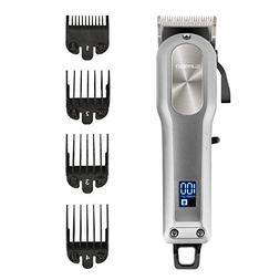 SUPRENT Pro Cordless Rechargeable Hair Clippers for Men, Hai