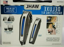 Wahl Deluxe Haircutting Kit Professional Clippers Men Trimme