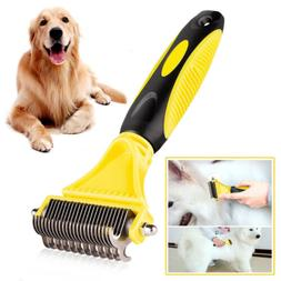 Dog Brush for Shedding-Best Cat Grooming Comb Tools Hair Pet