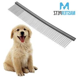 "10"" Pet Comb Dog Grooming Brush Cats Puppy Greyhound Goldend"