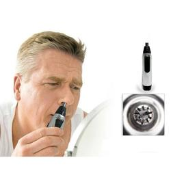 Electric Nose and Ear Hair Trimmer Shaver Cleaner Mens Water
