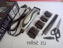 Electric Professional Hair Cut Clippers Cutter Tool Salon Ba