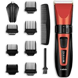 ELEHOT Hair Cutting Kits Clipper Trimmer Cordless Grooming L