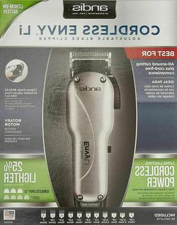 Andis Professional Cordless Envy Li Adjustable Blade Hair Cl
