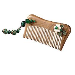 Ethnic Design Ladies Anti-static Retro Palace Mahogany Comb