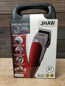 WAHL Fade Cut 16 Piece Haircutting Kit Hair Trimmers Clipper