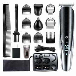 Hair Beard Trimmer Clipper Cutting Kit Multi Groomer Safe Wa