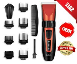Hair Clippers, Electric Trimmer Cordless Hair Cutter Groomin