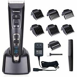 DEERCON Hair Clippers For Men Cordless Professional Trimmer