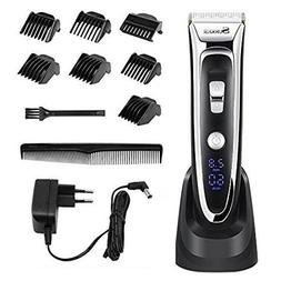 Hair Clippers for Men, Professional Electric LED Display Hai