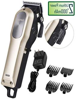 Hair Clippers for Men Professional, Kebor Electric Cordless