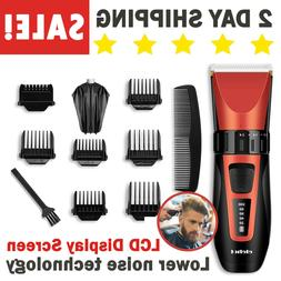 Hair Clippers Trimmers Cordless Cutting machine Grooming Tri