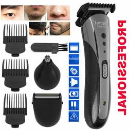 Hair Cutting Kit 10-Piece Machine Clippers Trimmer Pro Tools