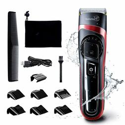 Hair Trimmer Beard Shaver Clipper Cutting Kit Safe Multi Gro