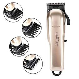 Hair Trimmer Professional Hair Clipper with 4 Replaceable co