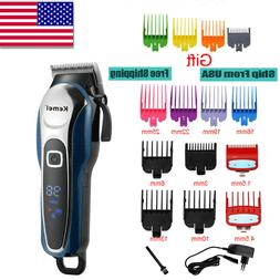 Kemei Electric Mens Hair Beard Trimmer Rechargeable Hair Cli