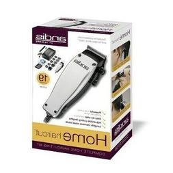 Andis 19-Piece at Home Haircutting Kit, Silver, Model MC-2