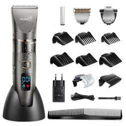 Hatteker Pro Hair Trimmer Beard Trimmer Men's Hair Clippers